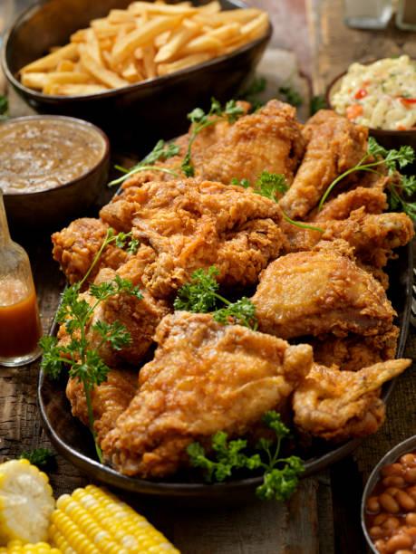 Fried Chicken Feast:スマホ壁紙(壁紙.com)