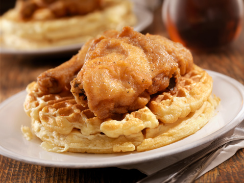 Chicken Wing「Fried Chicken and Waffles」:スマホ壁紙(18)