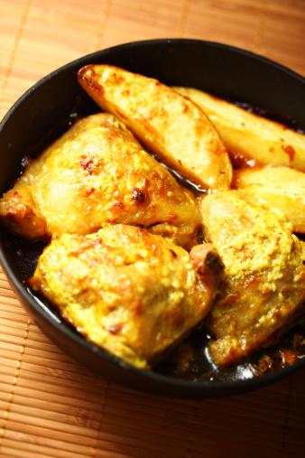Emitting「Fried chicken」:スマホ壁紙(6)