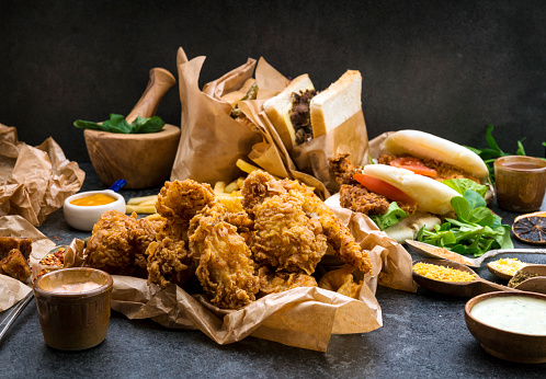 Crunchy「Fried Chicken」:スマホ壁紙(13)