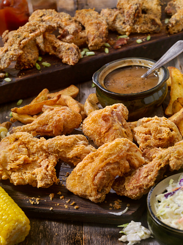 Chili Sauce「Fried Chicken and Country Fried Rib Feast」:スマホ壁紙(7)