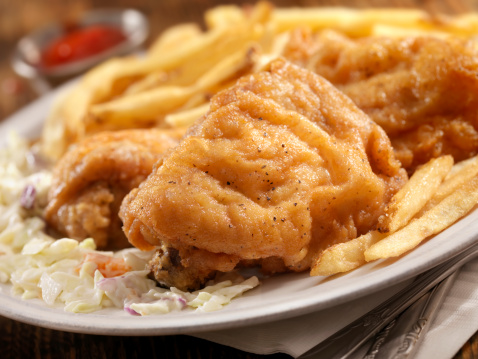 Chicken Wing「Fried Chicken with French Fries」:スマホ壁紙(18)