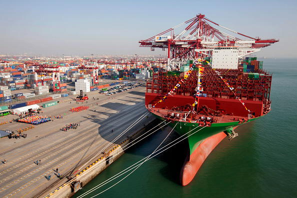 """Container「e World Largest Containership """"CSCL Globe"""" Starts In Qingdao」:写真・画像(17)[壁紙.com]"""