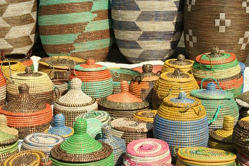 Indigenous Culture「A series of hand woven African sea grass baskets」:スマホ壁紙(5)