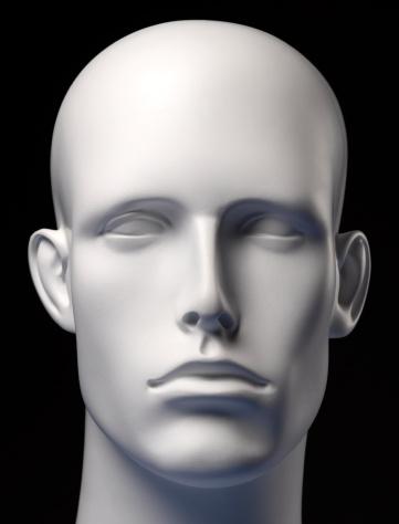 Male Likeness「Mannequin Head Black」:スマホ壁紙(8)