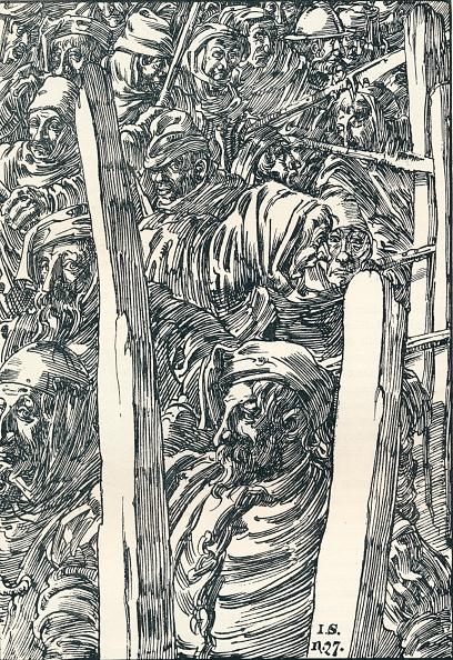 Full Frame「'The Peasants' Revolt', c1895. Artist: Joseph Kaspar Sattler.」:写真・画像(7)[壁紙.com]