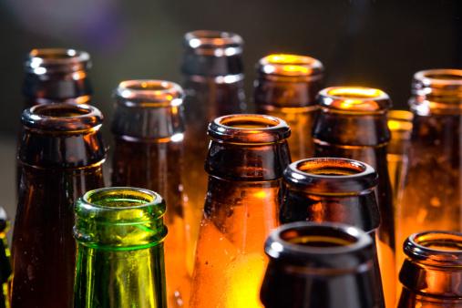 Liquor「Beer Bottles」:スマホ壁紙(1)