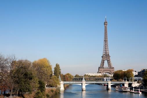 France「Beautiful Paris on a crisp clear Autumn or Winter day」:スマホ壁紙(3)