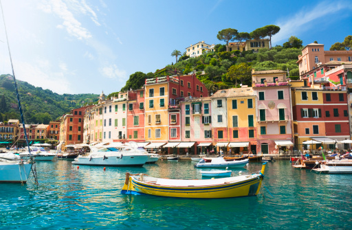 Coastline「Beautiful Portofino (Liguria, Italy)」:スマホ壁紙(12)