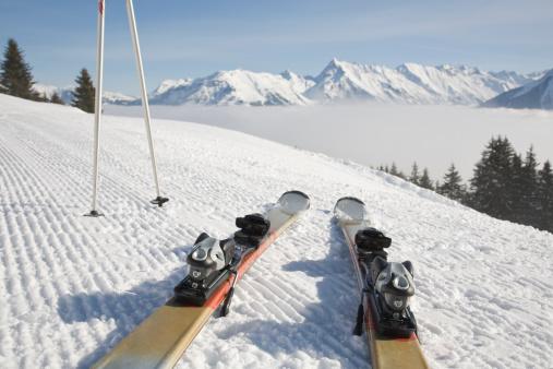 スキー「美しいパノラマ」:スマホ壁紙(17)