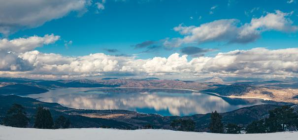 4k「トルコの湖こその美しいパノラマの景色」:スマホ壁紙(18)
