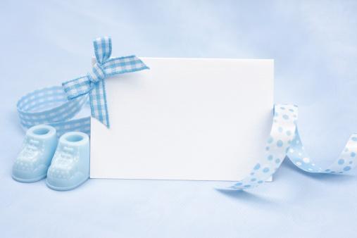 Invitation「Baby Boy Announcement」:スマホ壁紙(19)