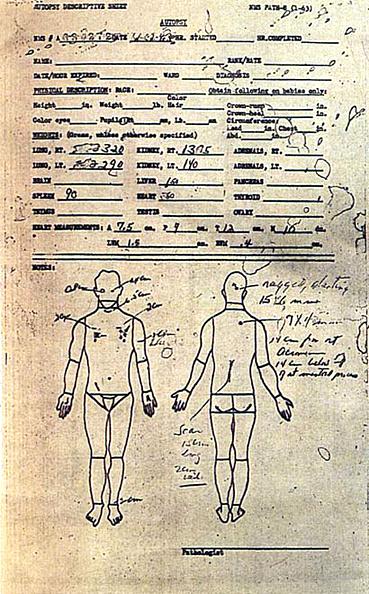 Document「John F. Kennedy Autopsy」:写真・画像(14)[壁紙.com]