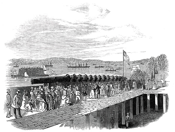 """Passenger Craft「Arrival Of """"The Great Britain"""" Steam-Ship At New York」:写真・画像(5)[壁紙.com]"""