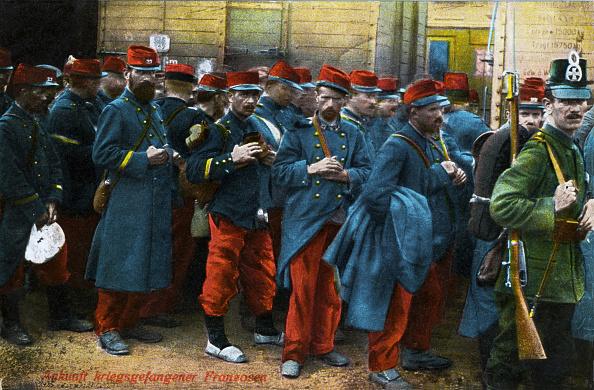 Color Image「WW1 French Prisoners」:写真・画像(0)[壁紙.com]