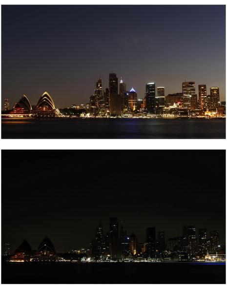 Urban Skyline「Earth Hour Recognised Across The World」:写真・画像(11)[壁紙.com]