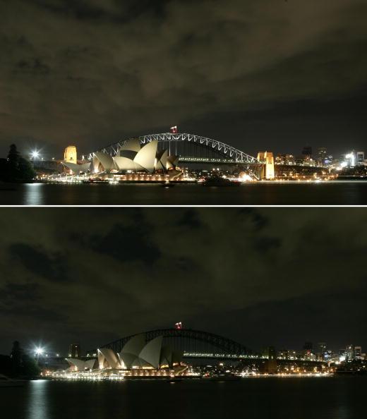 Sydney Harbor Bridge「Earth Hour Sydney」:写真・画像(13)[壁紙.com]