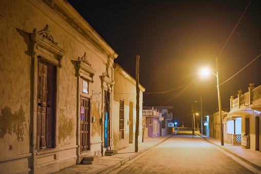 米国硬貨「キューバのコンペティションのための夜の空の街」:スマホ壁紙(10)