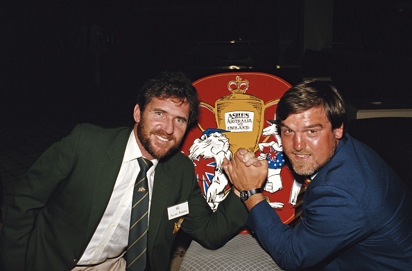 Photography「Australia Captain Allan Border and England Captain Mike Gatting 1986 Ashes Preview」:写真・画像(5)[壁紙.com]