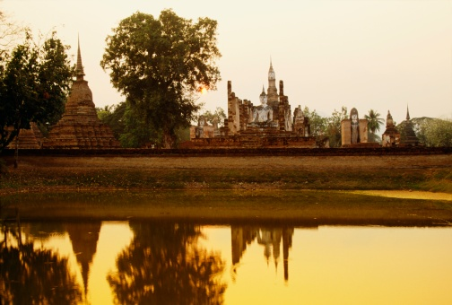 UNESCO「Sukhothai Historical Park in Thailand」:スマホ壁紙(4)