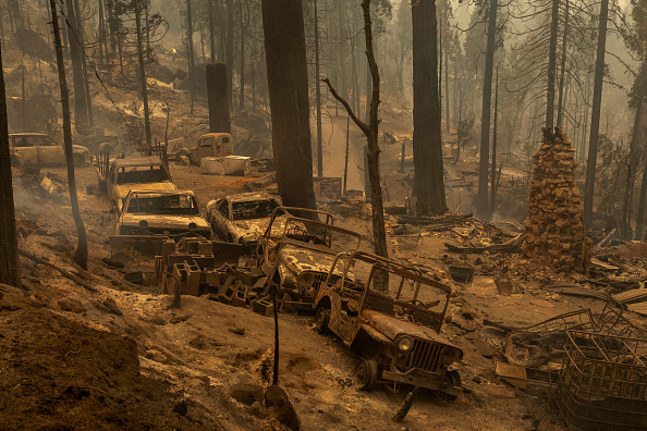 Extreme Weather「Creek Fire Grows Rapidly Near Shaver Lake, California」:写真・画像(9)[壁紙.com]