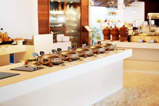 Hotel Reception「Catering industry - Serving dish for buffet dinner」:スマホ壁紙(1)