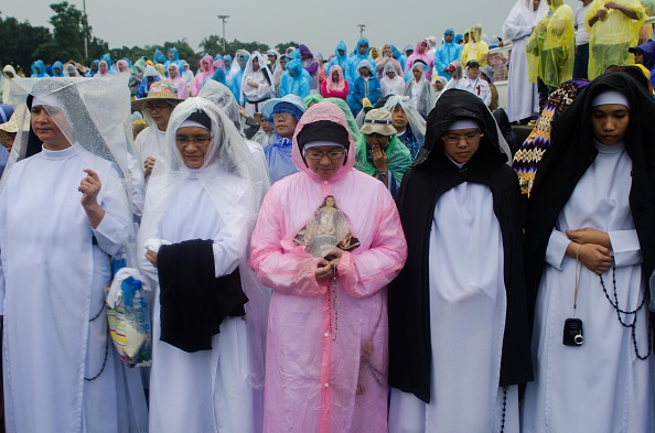 Religious Mass「Pope Francis Visits Philippines - Day 4」:写真・画像(3)[壁紙.com]
