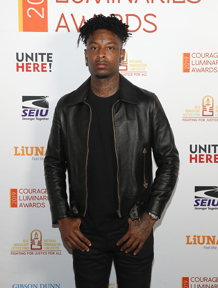 Jerritt Clark「21 Savage honored at NILC Courageous Luminaires Awards」:写真・画像(14)[壁紙.com]