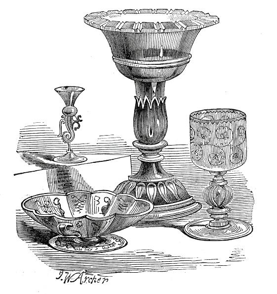 Drinking Glass「Rare Venetian Glass」:写真・画像(11)[壁紙.com]