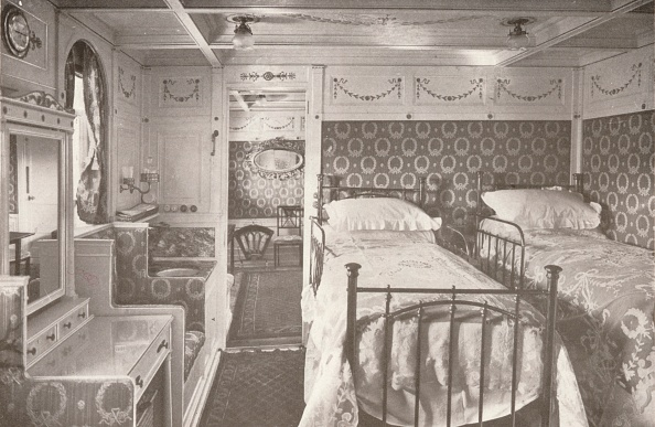Bedroom「A Home On The Rolling Deep Aboard A Royal Mail, 1914」:写真・画像(18)[壁紙.com]
