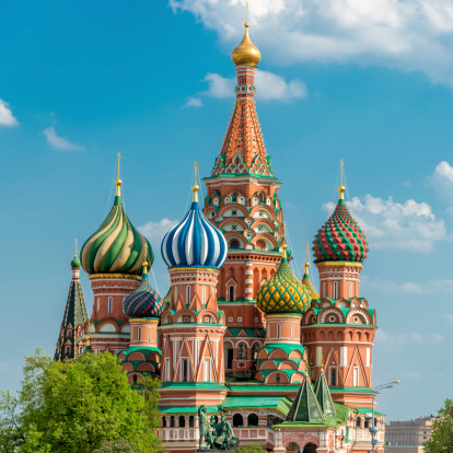 St「Moscow Russia St.Basil Cathedral」:スマホ壁紙(12)