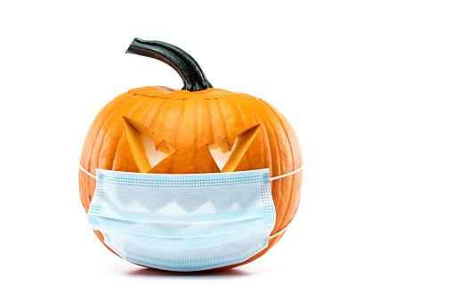 Protective Face Mask「Jack O' Lantern」:スマホ壁紙(3)