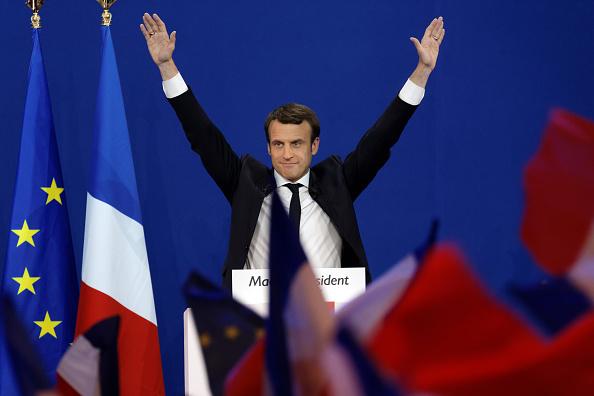 世界遺産「Presidential Candidate Emmanuel Macron Hosts A Meeting At Parc Des Expositions In Paris」:写真・画像(10)[壁紙.com]