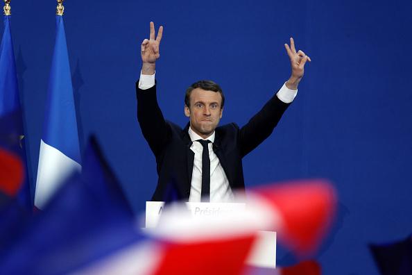 世界遺産「Presidential Candidate Emmanuel Macron Hosts A Meeting At Parc Des Expositions In Paris」:写真・画像(15)[壁紙.com]