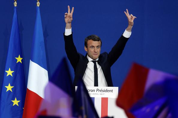 世界遺産「Presidential Candidate Emmanuel Macron Hosts A Meeting At Parc Des Expositions In Paris」:写真・画像(16)[壁紙.com]