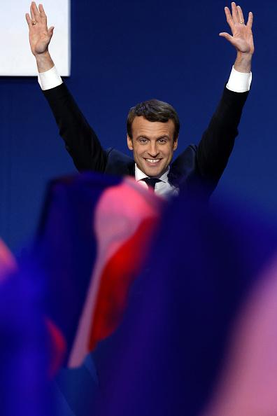 世界遺産「Presidential Candidate Emmanuel Macron Hosts A Meeting At Parc Des Expositions In Paris」:写真・画像(13)[壁紙.com]