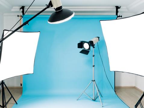 Backdrop - Artificial Scene「Empty photographic studio」:スマホ壁紙(12)