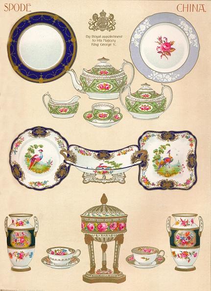 Ceramics「Spode China: WTCopeland & Sons, Stoke-on-Trent, 18th century, (1913).」:写真・画像(10)[壁紙.com]