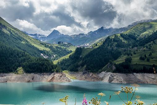 Val d'Isere「Reservoir」:スマホ壁紙(13)
