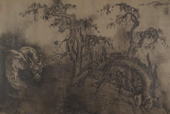 Circa 14th Century「Dragons And Landscape」:写真・画像(13)[壁紙.com]