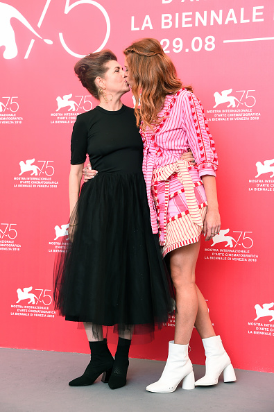 """Eamonn M「""""A Letter To A Friend In Gaza And Tramway In Jerusalem"""" Photocall - 75th Venice Film Festival」:写真・画像(9)[壁紙.com]"""