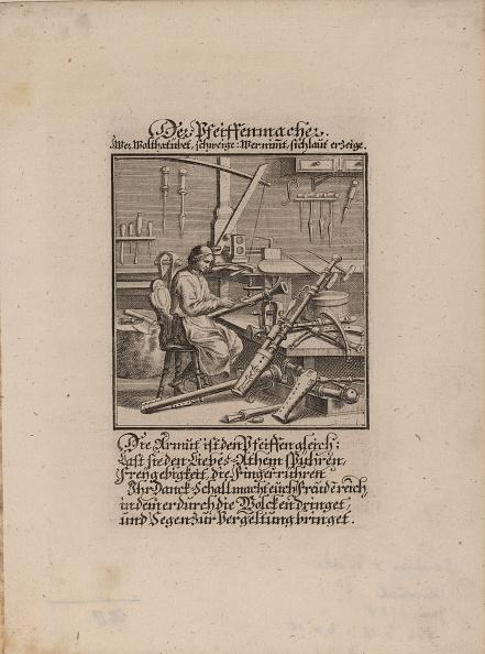 楽器「The Wind Instrument Maker Artist: Weigel, Christoph, the Elder (1654-1725)」:写真・画像(19)[壁紙.com]