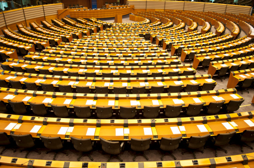 Belgium「European Parliament Empty Assembly Room Brussels」:スマホ壁紙(12)