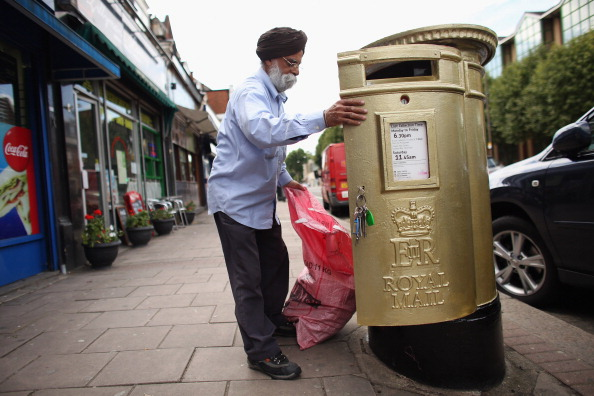Mailbox「Postboxes Painted In The Towns Of Great Britain's Gold Medal Winners」:写真・画像(8)[壁紙.com]