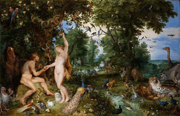 Garden Of Eden - Old Testament「The Garden Of Eden With The Fall Of Man」:写真・画像(0)[壁紙.com]