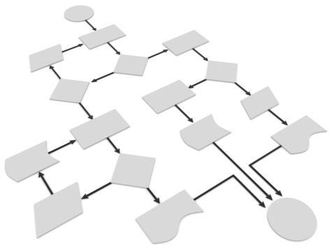 Computer Software「Flow Chart」:スマホ壁紙(4)