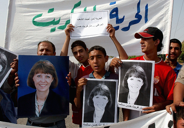 Wathiq Khuzaie「Iraqis Protest Against The Kidnapping Of Margaret Hassan」:写真・画像(1)[壁紙.com]