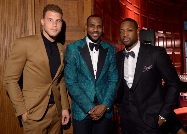 Blake Griffin「GQ & LeBron James NBA All Star Party Sponsored By Samsung Galaxy And Beats - Inside」:写真・画像(8)[壁紙.com]