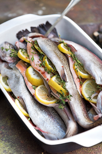 Picnic「Trout Ready for Grill」:スマホ壁紙(11)