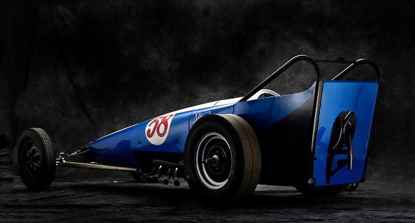 Drag Racing「1960 Allard Dragster」:写真・画像(3)[壁紙.com]